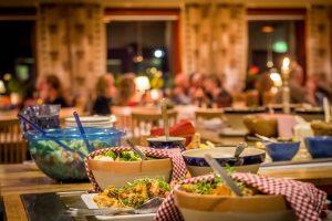 3-rätters middagsbuffé Hotell Bruksvallsliden
