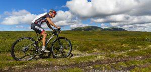 Fjällturen Cykling med MTB på fjället